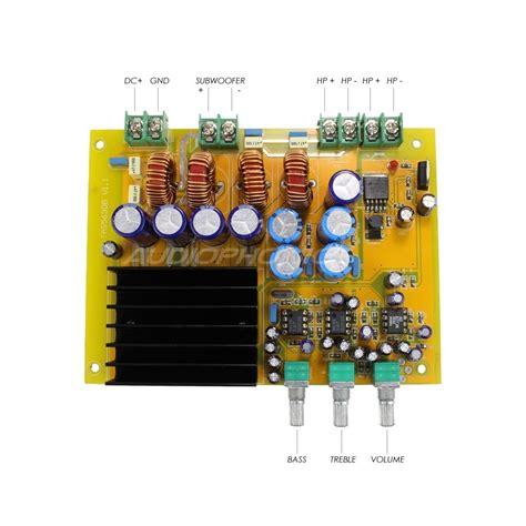 Power Lifier 21 Stereo 150 X 2 300 Watts Subwoffer 200 Watts ma ta03 class d lifier 2 1 board tas5630b 2x 150w 1x 300w 4 ohm audiophonics