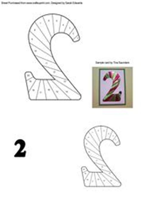 Paper Folding With Numbers - numbers iris folding patterns card
