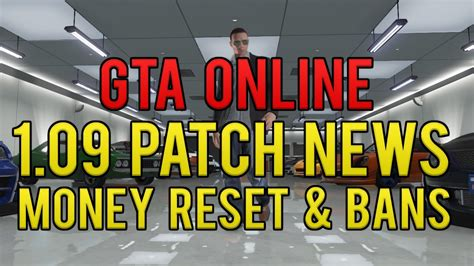reset gta online stats quot gta online modded money quot reset bans 1 09 patch coming