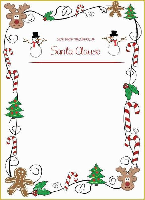 editable christmas newsletter templates