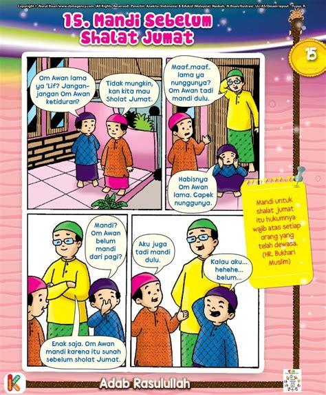 komik teladan islam  adab hadist rasulullah