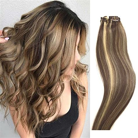brown hair with light highlights light brown hair extensions with highlights