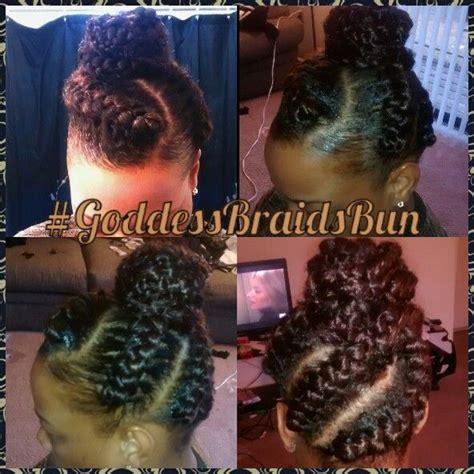 big goddess braids in bun 17 best images about goddess braids on pinterest