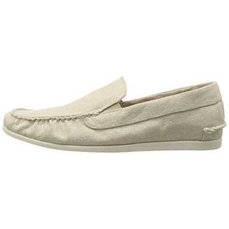 steve madden casual loafers steve madden 0576 mens hoist linen canvas casual loafers