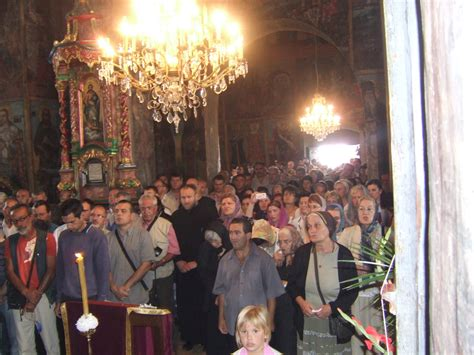 St Angelie celebration of on fruska gora serbian orthodox church official web site