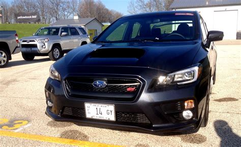 fast subaru wrx track test review 2015 subaru wrx sti is brilliantly