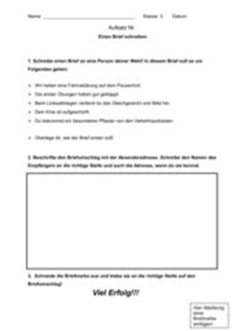 Sachlicher Brief Anfrage Einen Persnlichen Brief Schreiben Analyse Der Erklrung Crash Test Sz Muster Einen Brief
