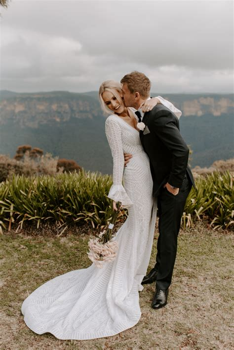 charlotte kierens blue mountains wedding
