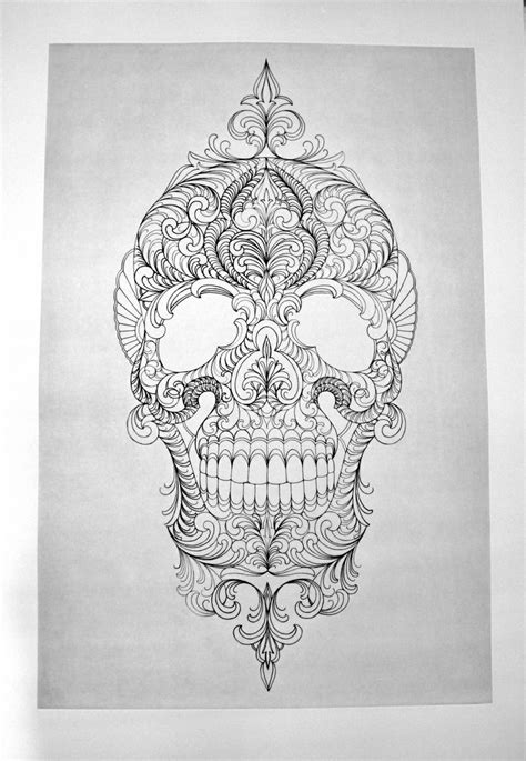 muerte skull tattoo sketch best tattoo ideas gallery