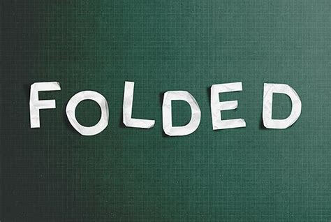 Photoshop Folded Paper Effect - 25 paper photoshop tutorials psddude