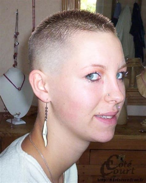women getting crew cut haircuts 75 badass brush cut hairstyles for women