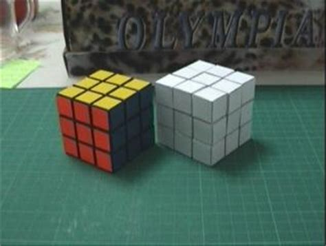 How To Make A Paper Rubix Cube - dror s paper cube