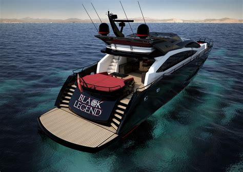 Tha 101 Black yacht black legend a sunseeker 101 sport yacht
