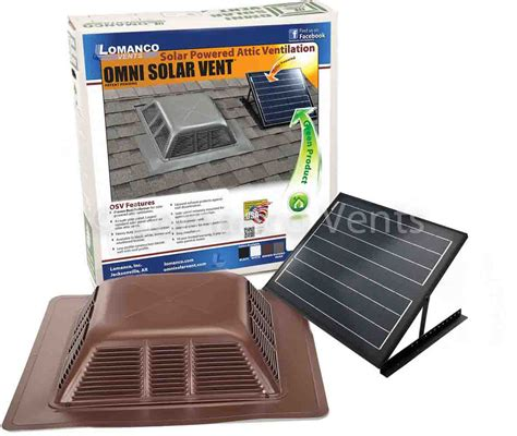 lomanco gable mounted attic solar power roof vent wimsatt building materials