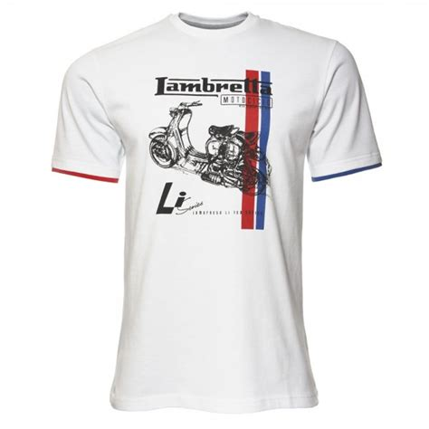 T Shirt Lambretta 5 by Lambretta Skeleton Print Li 150 Series Scooter T Shirt Jon