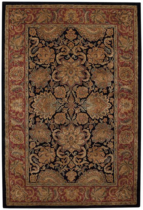 capel rugs home kaimuri agra black rugs capel rugs home furnishings