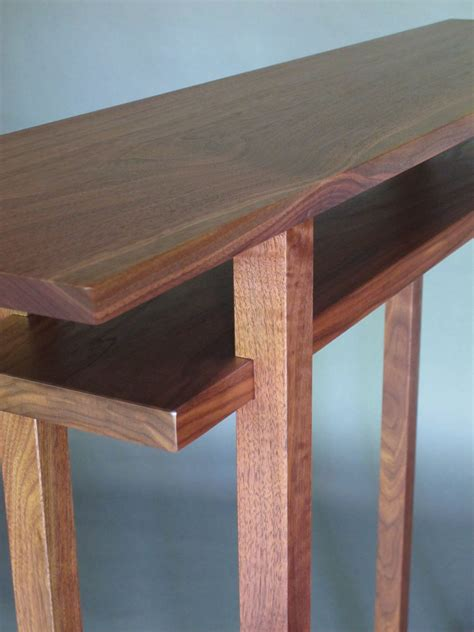 Thin Hallway Table Narrow Console Table Small Entry Table Thin