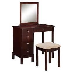 Linon home julia vanity and bench set bed bath amp beyond