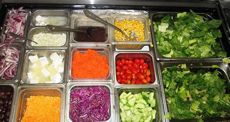 salad bar toppings image gallery salad toppings