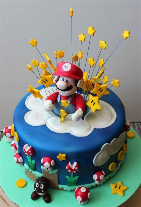 Mario Bros 29 21 curated mario cakes ideas by kdsessions49 birthday