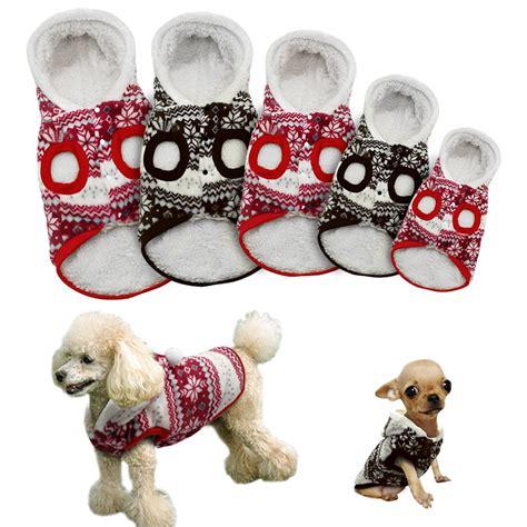 pattern for dog coats for winter 5 sizes winter warm pet dog coat clothes soft fleece vest