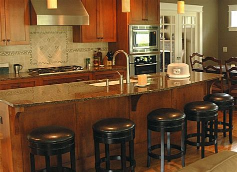 Kitchen Stools For Islands by Setting Up A Kitchen Island With Seating