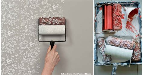 Create Your Wall With Patterned Paint Roller Sufentan Com | create your wall with patterned paint roller sufentan com