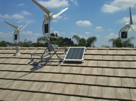 hybrid wind solar power generators for homes businesses