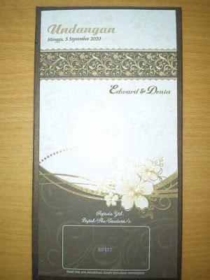 Cetak Undangan Erba Kode Er 88121 undangan pernikahan semi hardcover kode 88137