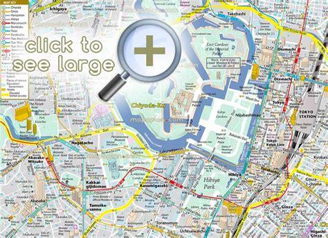 printable map tokyo tokyo maps top tourist attractions free printable
