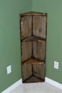 Wooden Cabinet Shelves Reclaimed Rustics Barn Wood Corner Shelf