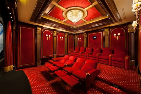 red house theater 7 favorite custom home theaters electronic house