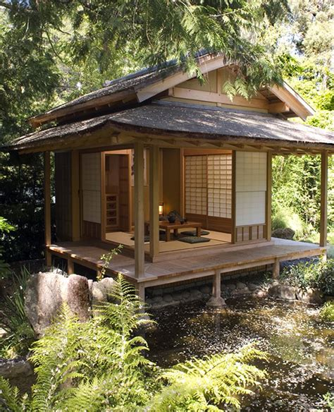 traditional japanese tea house this garden complex constructed for a residence