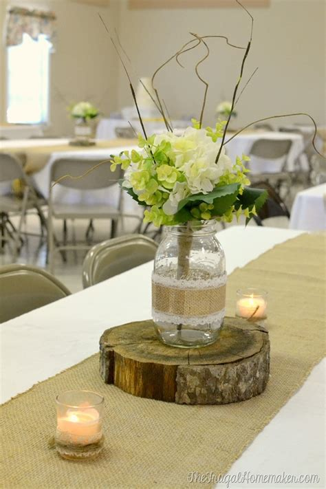 wood slices for table centerpieces wood crates to decorate for weddings and