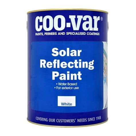 CooVar Solar Reflective Paint   www.paints4trade.com