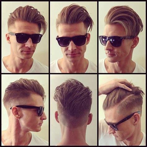 360 view of mens hair cut love this hairstyle any guy that pulls it off i m