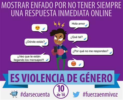 violencia de genero con imagenes diez formas de violencia de g 233 nero digital padres en la red