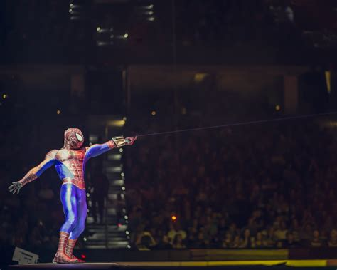 swinging meets marvel universe live spider man interview sactown