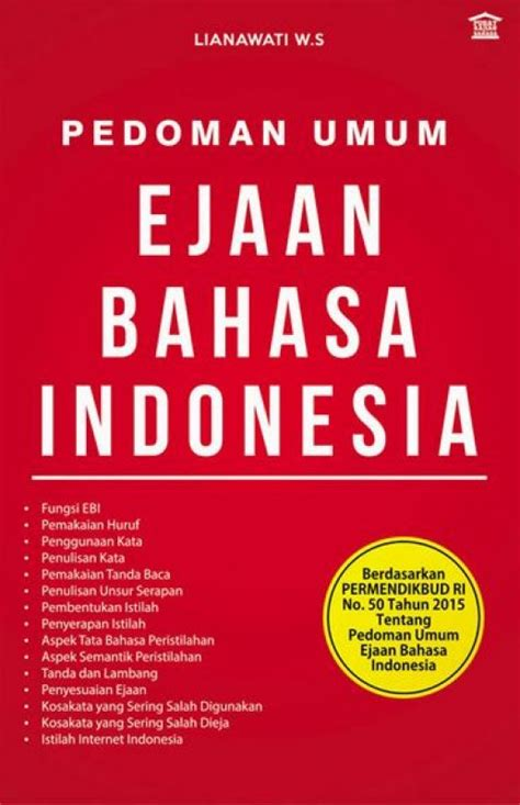 bukukita pedoman umum ejaan bahasa indonesia