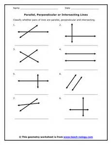 parallel perpendicular or intersecting lines