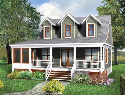 Two Story Cottage House Plan 80660pm Architectural Cottage Architectural Plans