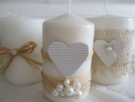 candele per san valentino candele shabby chic per san valentino