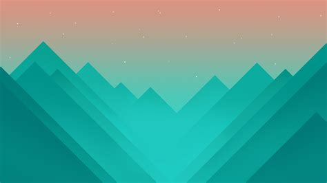 abstract images wallpaper flat polygons 4k 5k mountains iphone