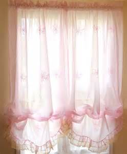 shabby embroidery ruffle chic crochet lace pink balloon
