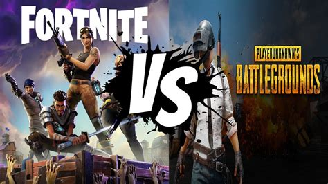 fortnite vs pubg player count pubg vs fortnite battle royale 30 vs free to play