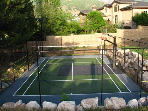 residential tennis backyard tennis courts sportprosusa