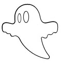 printable ghost shapes ghost pattern use the printable outline for crafts