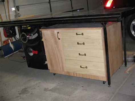 workshop table  storage cabinet buildsomethingcom