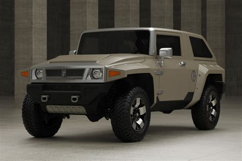 halo warthog jeep us specialty vehicles resurrects failed gm concept using a