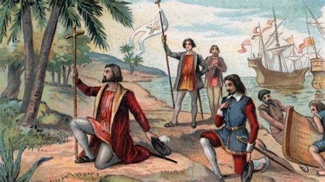 wann entdeckte kolumbus amerika vor 525 jahren christoph kolumbus geht in amerika an land